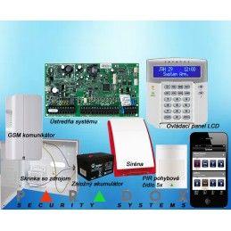 Paradox sada EVO/5 K641LCD + GSM PCS250