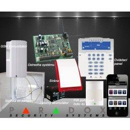 Paradox bezdrôtový EZS 3+GSM PCS250