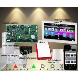Paradox set DIGIPLEX EVO/8 TM50LCD+GSM PCS250