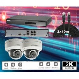 HIKVISION-2D IP-IR20m 4MP UHD