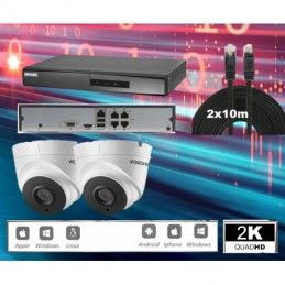 HIKVISION-4 IP-D 4MP UHD IR 30m
