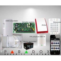 Paradox sada SP/8 K10LED+ GSM PCS250