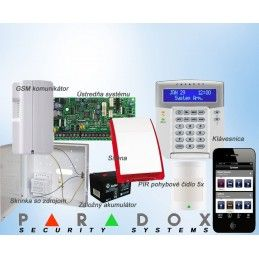 Paradox sada SP/5 K32LCD+ GSM PCS250