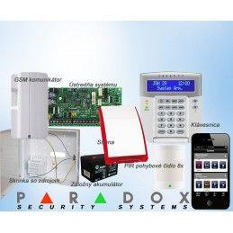 Paradox sada SP/8 K32LCD+ GSM PCS250