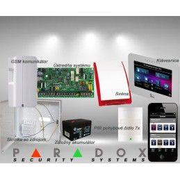 Paradox sada SP/7 TM50LCD+ GSM PCS250