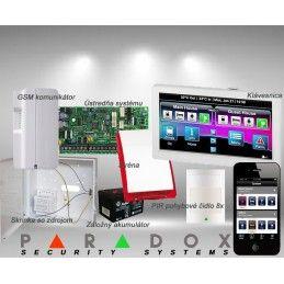 Paradox sada SP/8 TM70LCD+ GSM PCS250