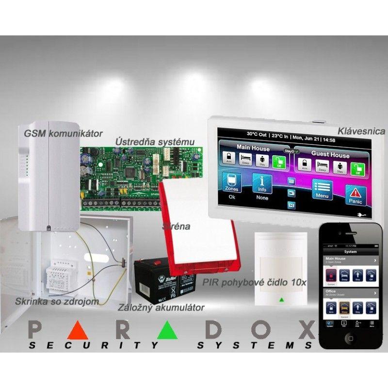 Paradox sada SP/10 TM70LCD+ GSM PCS250