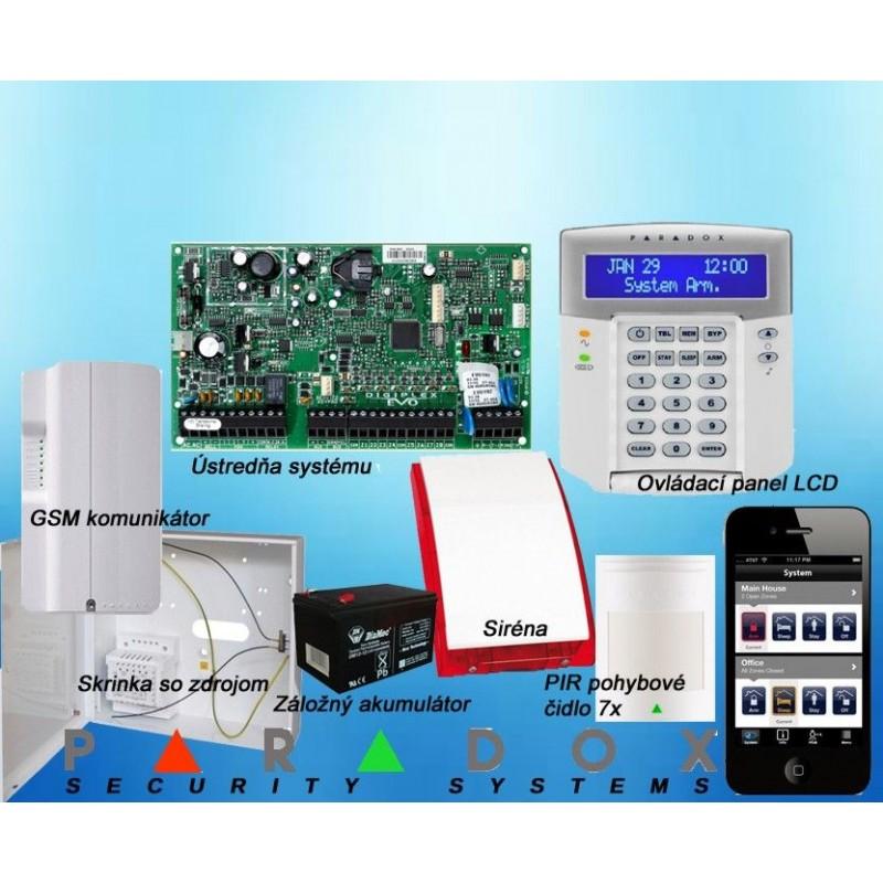 Paradox set DIGIPLEX EVO/7 K641LCD+GSM PCS250