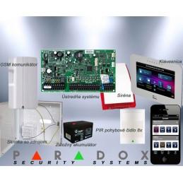 Paradox set DIGIPLEX EVO/7 TM50LCD+GSM PCS250