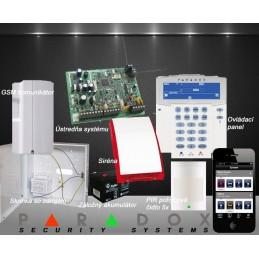 Paradox bezdrôtový EZS 5+GSM PCS250