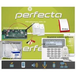 SATEL PERFECTA 2 bezdrôtový+GSM+klúčenka
