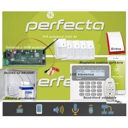 SATEL PERFECTA 5 / bezdrôtový EZS+GSM+klúčenka