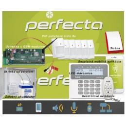 SATEL PERFECTA / bezdrôtový EZS 6+GSM+klúčenka